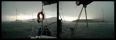 15 agosto 2008, buriana a Portoferraio