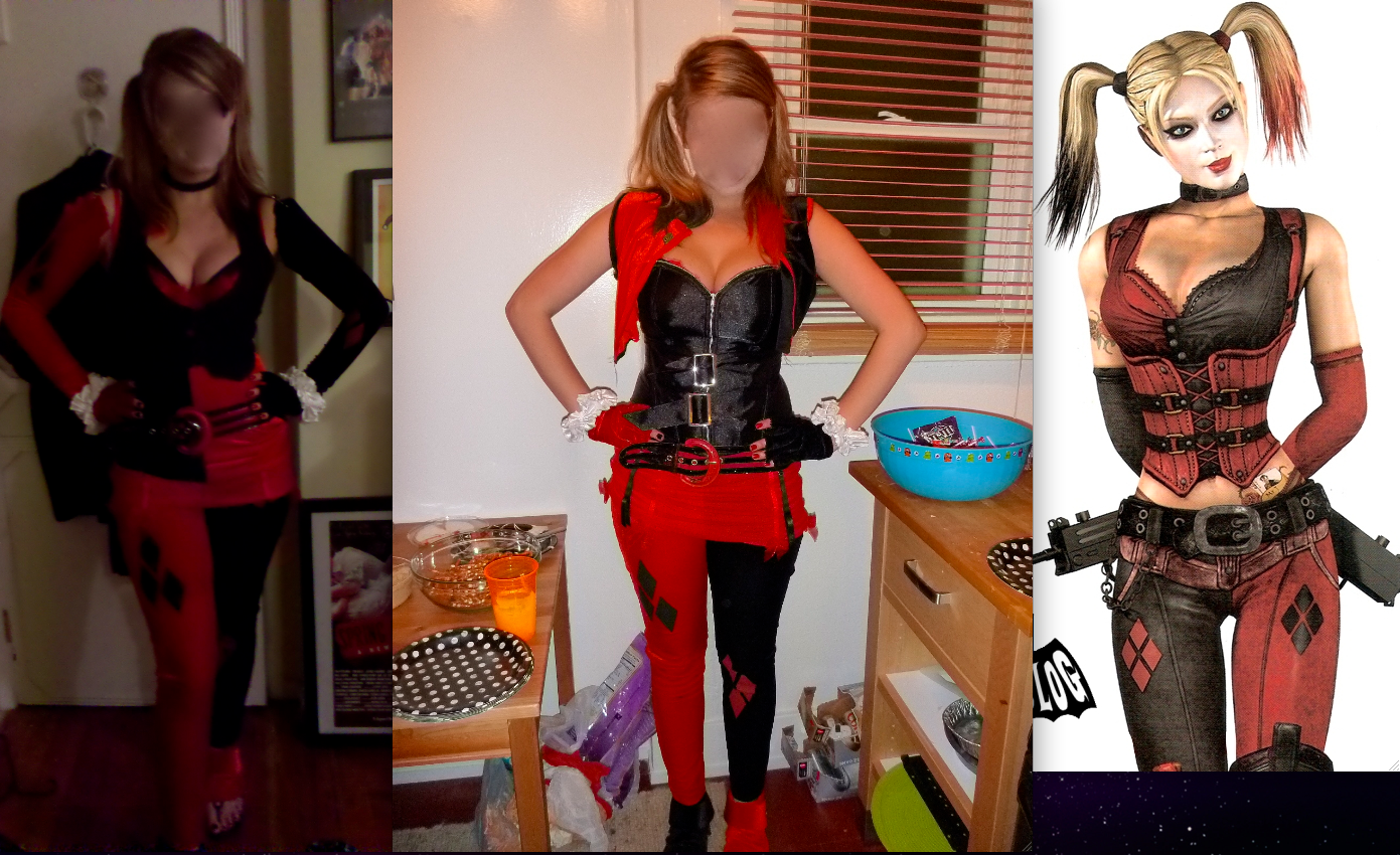 All Things Fangirl: Not Your Average Harley Quinn Costume - A Guide