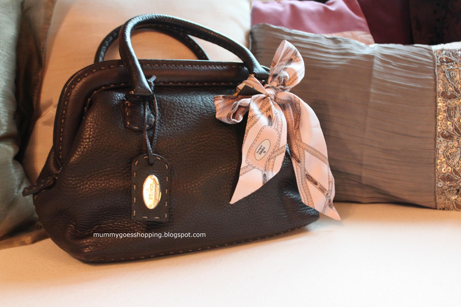 Sold Fendi Selleria Brown Leather Doctor Bag Mummygoesshopping Bowling Handbag So It Does Show Signs That Is Used But This Inevitable Because Of The Nature Suede Interior Clean And No Odour