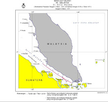Batas Laut Indonesia-Malaysia di Selat Malaka