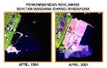 Perkembangan Luas Singapura 1994-2001