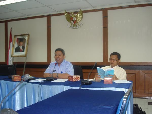 Diskusi OCEAN POLICY di DKP