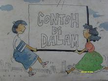 Contoh Lukisan Kartun