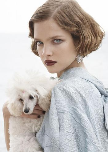 Natalia Vodianova bob 
