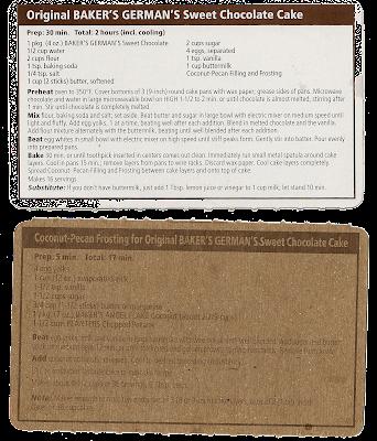 Bakers Chocolate Bar Recipes