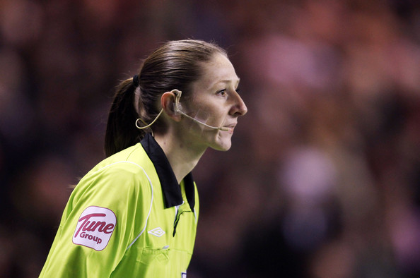 Women Linesman Sian Massey. Tell that to Sian Massey et