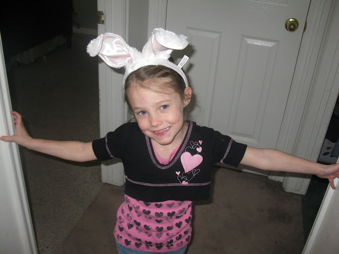 Josilin in her Bunny Ears