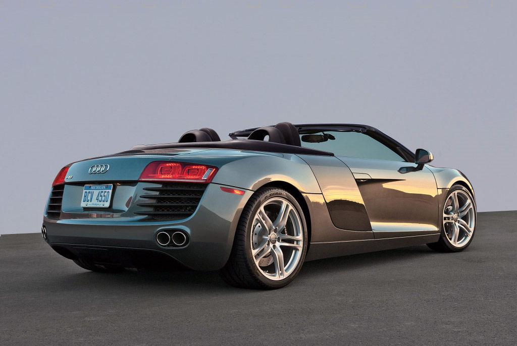 Audi R8 Spyder Sports