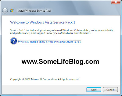 Vista SP1 Upgrade Update Solutions Problems Fixes 1