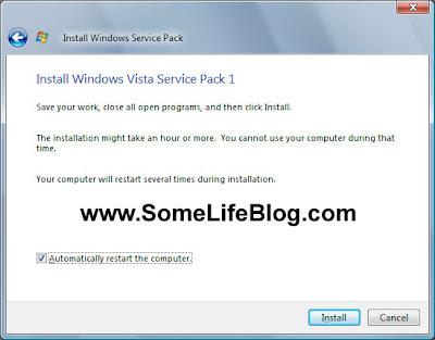 Vista SP1 Upgrade Update Solutions Problems Fixes 3