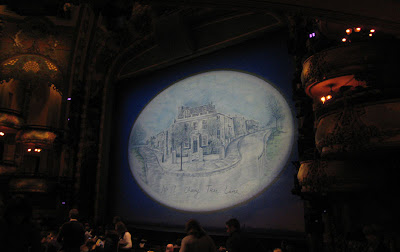 Inside of the New Amsterdam Theater for the Broadway production of Disney's Mary Poppins in New York City