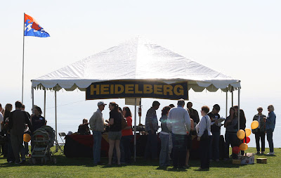 Pepperdine Homecoming 2008 - The Heidelberg Reunion tent