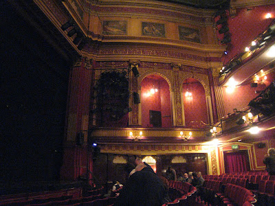 Inside the Phoenix Theatre in London, England