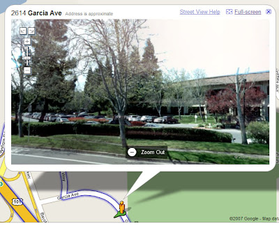 Google Street View Intuit Mountain View