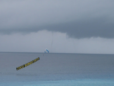 Waterspout number 2 off the coast of Cancun, Mexico