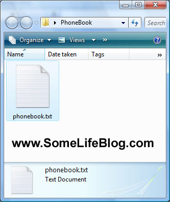 Sync contacts by importing CSV into Microsoft Outlook for Motorola V3 RAZR