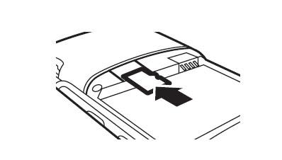 How to install RAZR V3 microSD or Transflash card