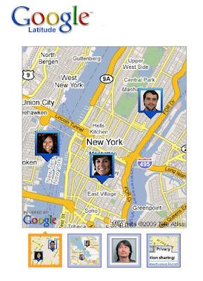 Google Latitude GPS Maps Mashup Serivce