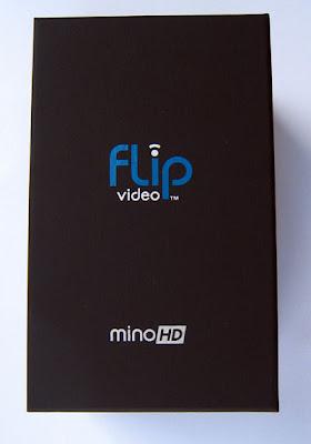 My actual box photo of my Flip Video Mino HD Digital Video Camera at 720p