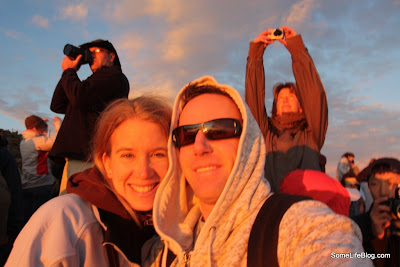 Sunrise and Tours at Haleakala Volcano Crater: Watching while others take pictures