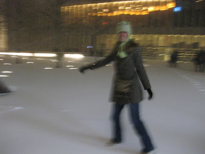 One of the few blur pictures I have taken and liked.  When we went in to see South Pacific at the Lincoln Center at 7:30pm, there was very little snow.  3 hours later, there were over six inches on the ground right outside the doors.