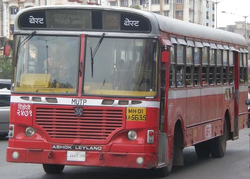 बेस्टमध्ये बस चालकाच्या १८१६ जागा BEST%2BBUS%2BMIRA%2BROAD