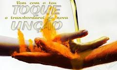 Recebe o toque da unção do Espírito Santo!!!