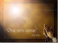 A oração move o coração de Deus!!!