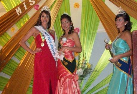 Miss Perú Universo 2009 en Bagua Grande