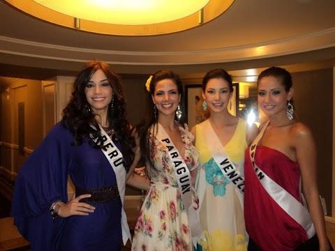 Miss Universe 2010, fotos recientes