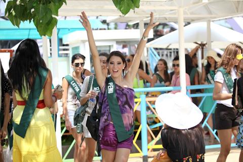 Peruana es favorita para coronarse Miss Earth 2010