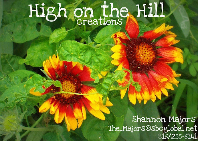 High on the Hill creations