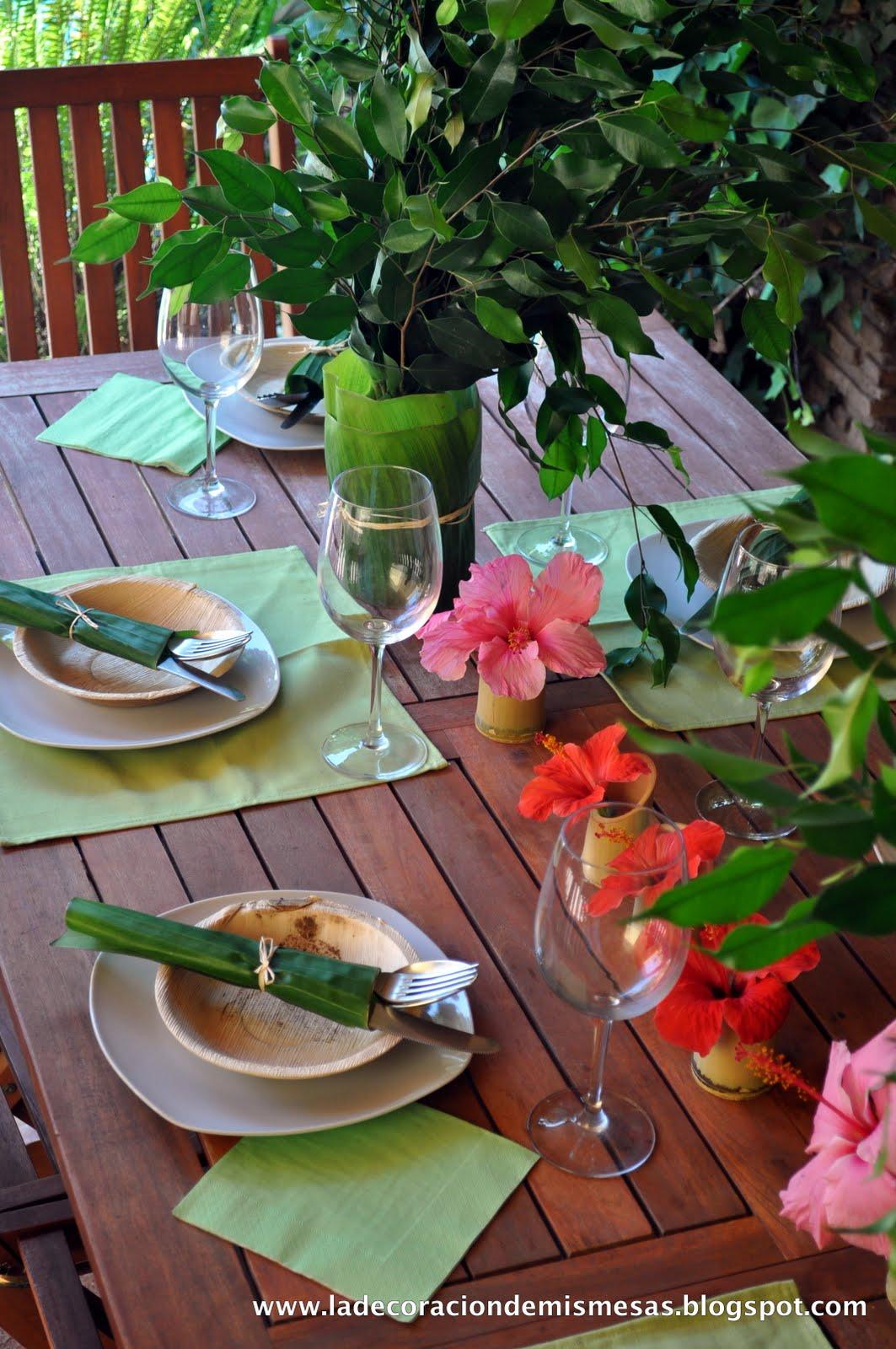 Decorar la mesa en verano - Mesas de verano ...