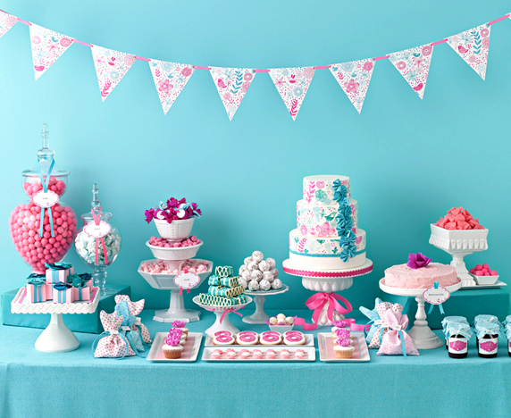 Mesas infantiles de cumpleaños - Imagui