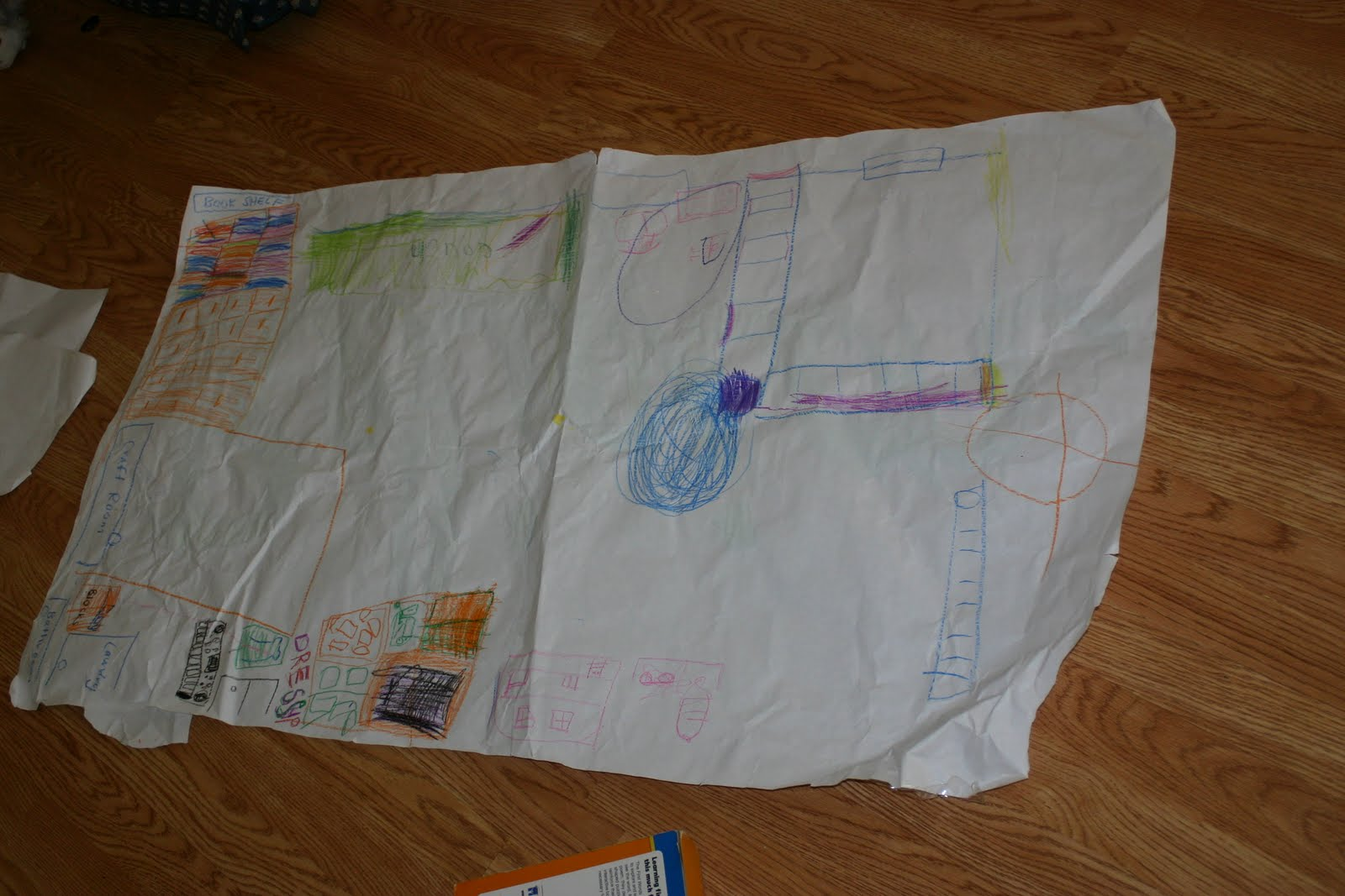 we looked at a globe and a u s map and talked about how we live in a continent then a country that has the same goverment and a state then a town