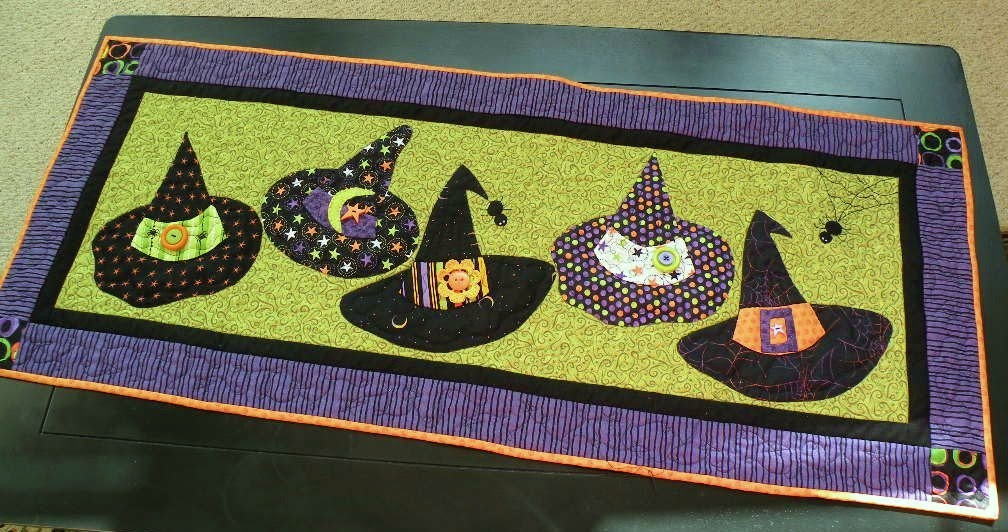 Table runner sewing pattern patterns gallery comprojectstable linenshalloween charms spooky table runner find table runner sewing pattern from watchthetrailerfo