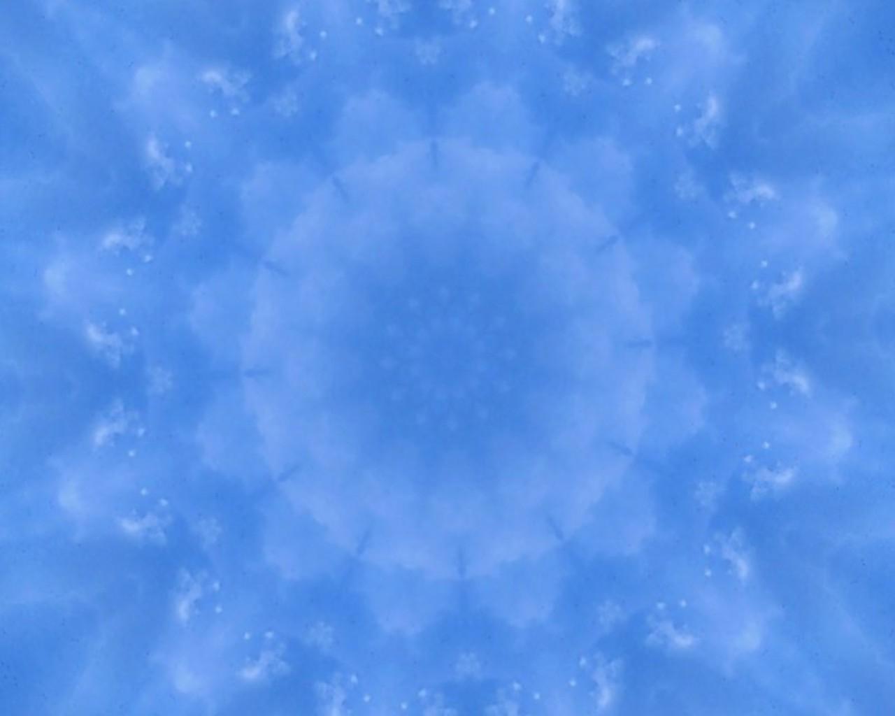 1º raio (azul)