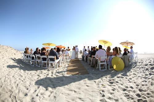 Rented Bliss: Beach Wedding