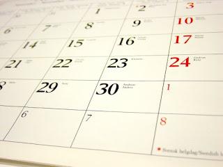 RunningMySpace Calendar