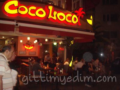 coco loco alsancak bornova restaurant