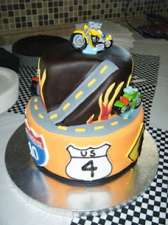 Cassys Cakes Another Motorcycle Birthday