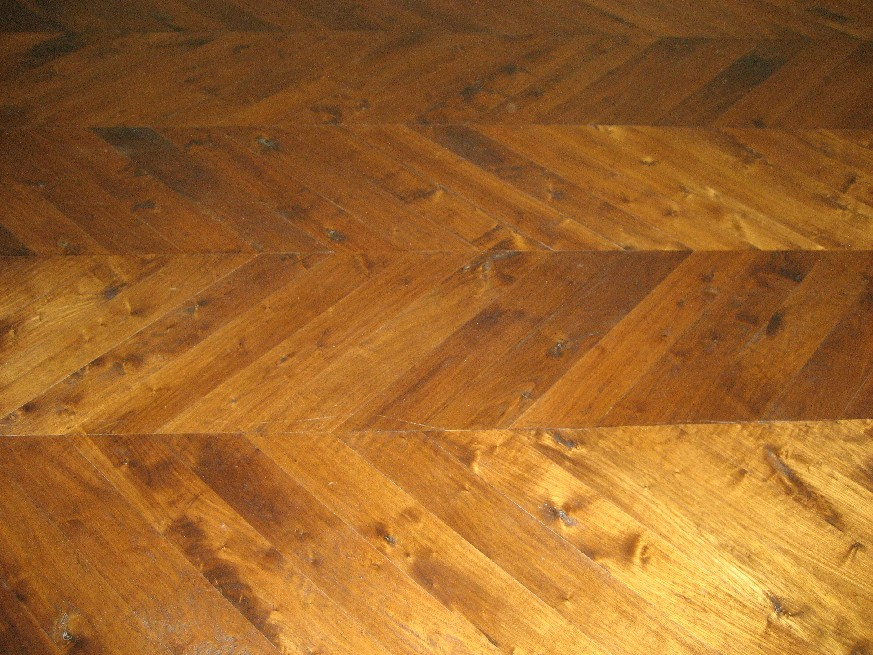 Universal floors old world elegance with a chevron pattern for Old world floors