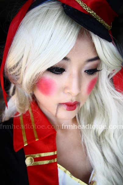 ulzzang makeup tutorial. Halloween Make-Up Tutorial
