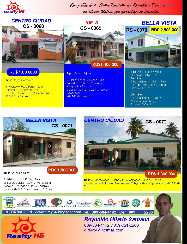 Guia inmobiliaria de nagua y la costa norte de la for Guia inmobiliaria