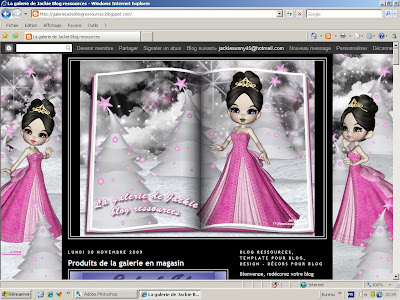 http://galeriejackieblogressources.blogspot.com/2009/12/blog-template-princesses.html