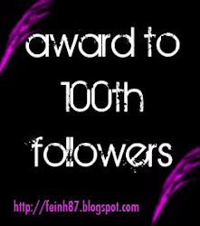 Award to my 100th followers