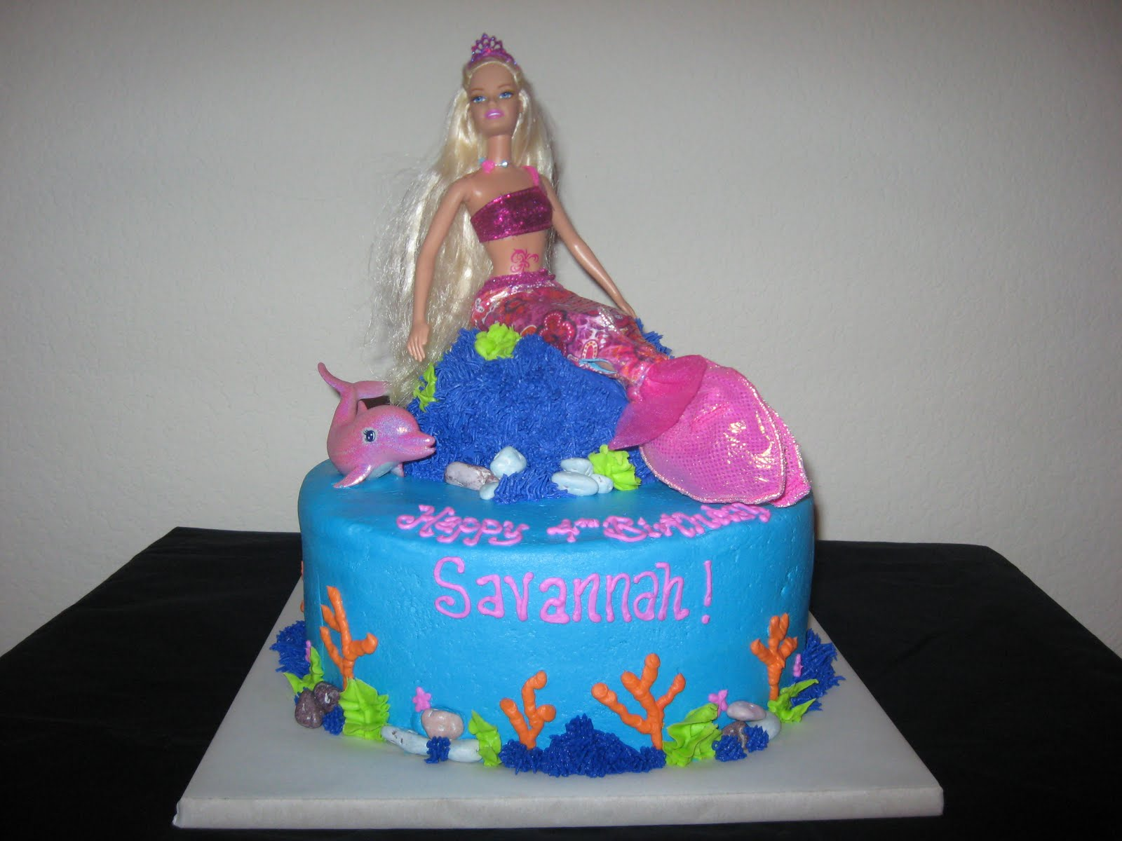 Barbie Mermaid Cake Images : Uploaded by user