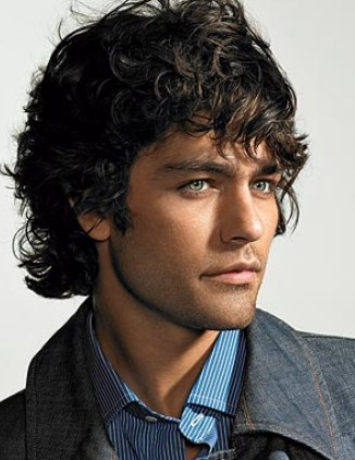 Curly Mens Hairstyles 2010