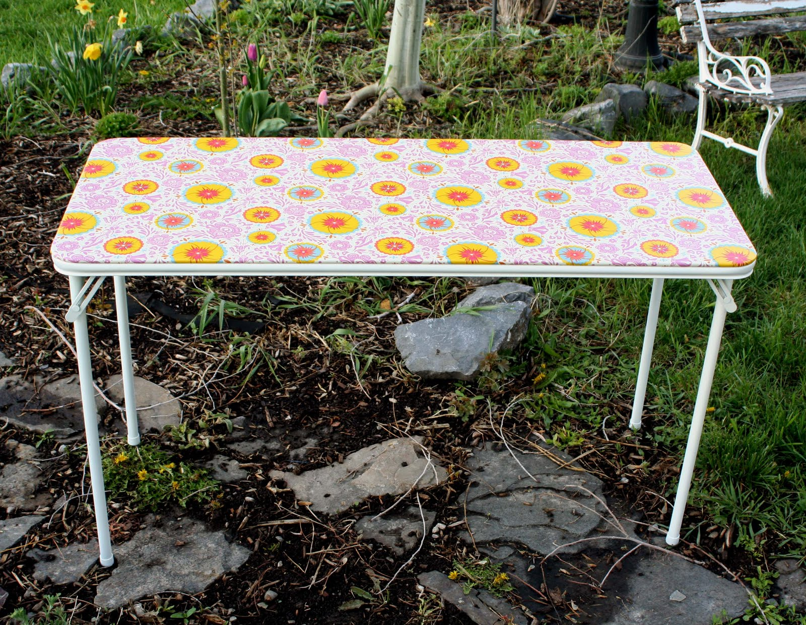 Card Table Make Over