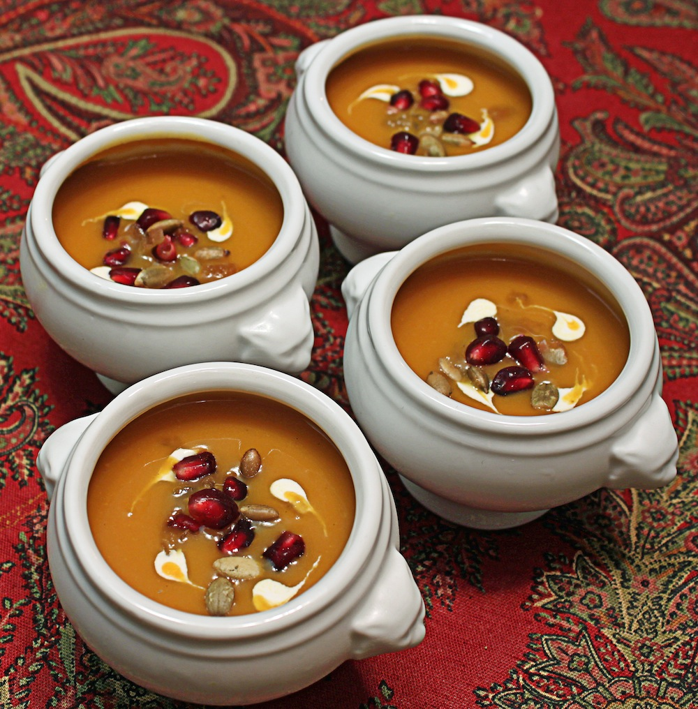 ... Soup!: The Crown Jewel Affair: Roasted Butternut Squash and Pear Soup